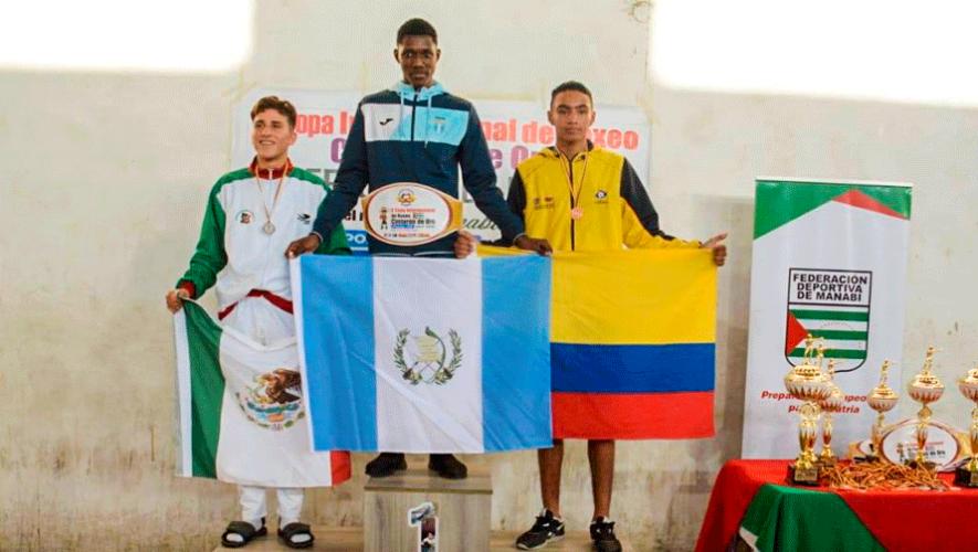 Luis Castillo es campeón por segunda vez en la Copa Cinturón de Oro 2019 en Ecuador