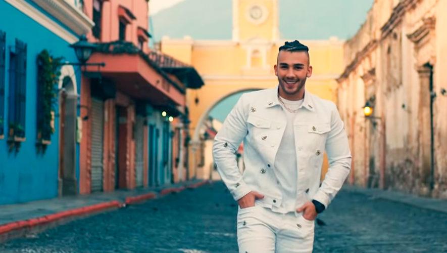 Manuel Turizo grabó en Antigua Guatemala el video de su nueva canción Nada ha cambiado