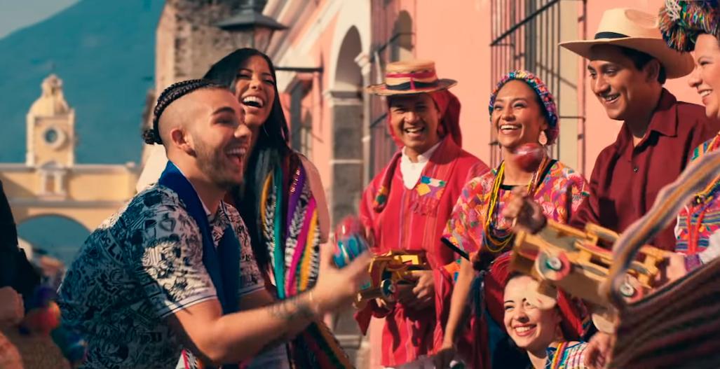 Manuel Turizo grabó video en Antigua Guatemala