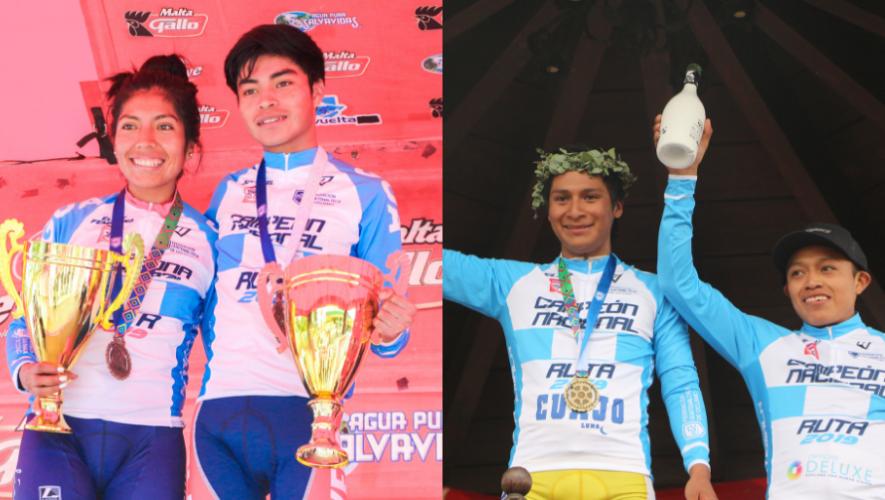 Mardoqueo Vásquez y Jasmin Soto son los bicampeones Nacionales de Ruta 2019
