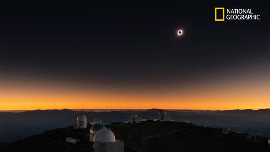 Nat Geo publicó foto de Eclipse Total de Sol que fue tomada por Sergio Izquierdo