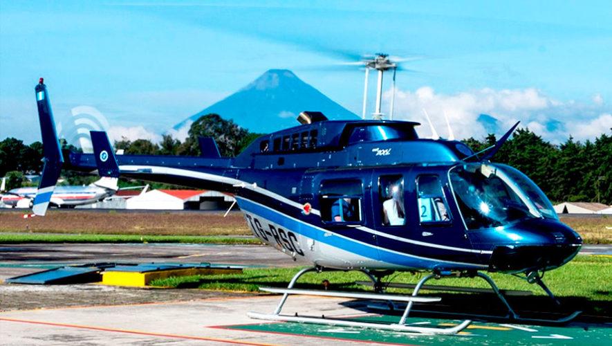 Paseo por la Ciudad de Guatemala en helicóptero | Julio 2019
