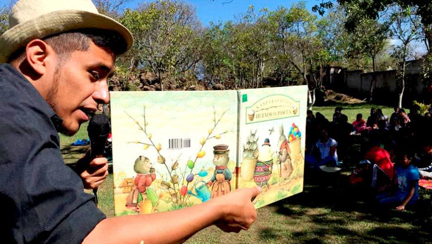 Presentación de cuentos en idioma t'zutujil en Xela | Julio 2019