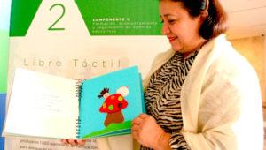 Presentación de cuentos infantiles en braille   Julio 2019