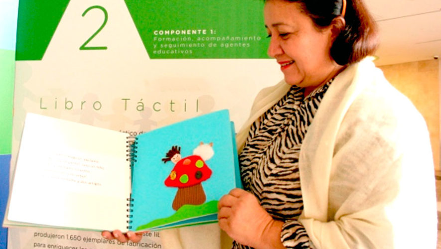 Presentación de cuentos infantiles en braille | Julio 2019
