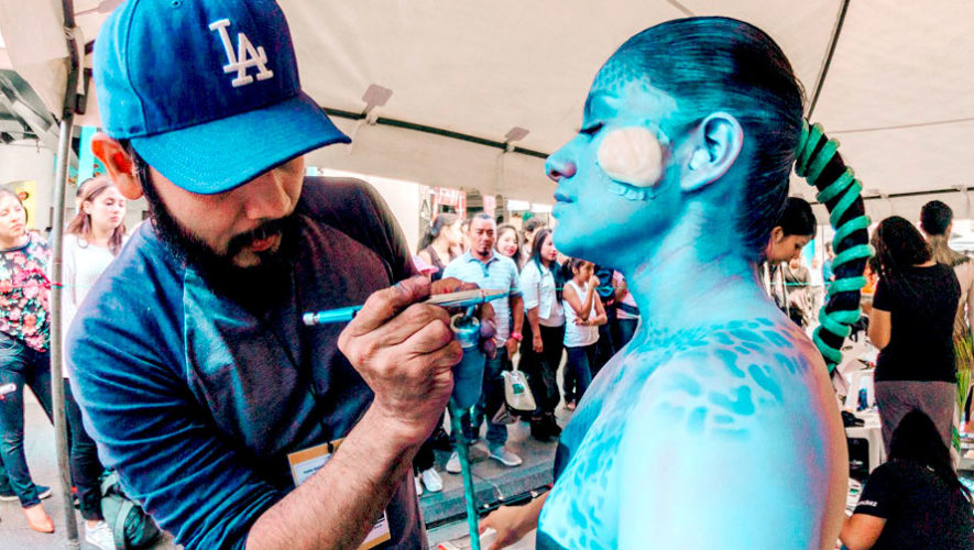 Quinto festival de body paint en Guatemala | Agosto 2019