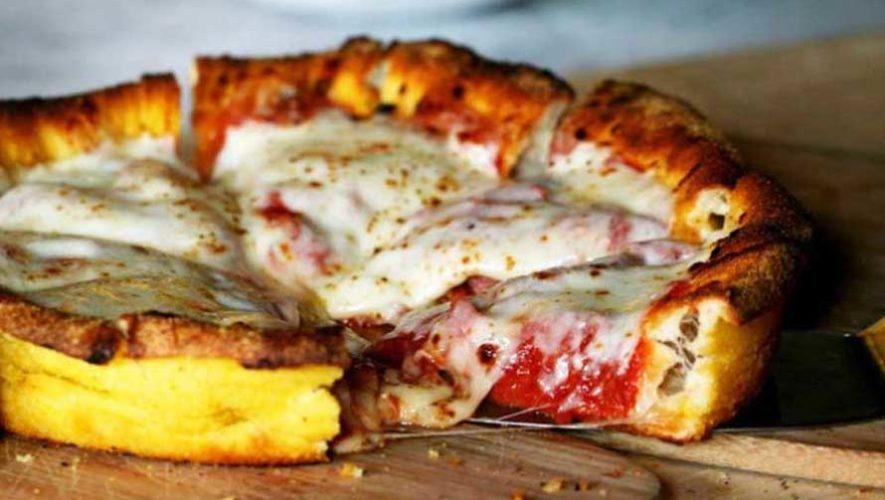 Reto de pizza en parejas en La Fattoria | Julio 2019
