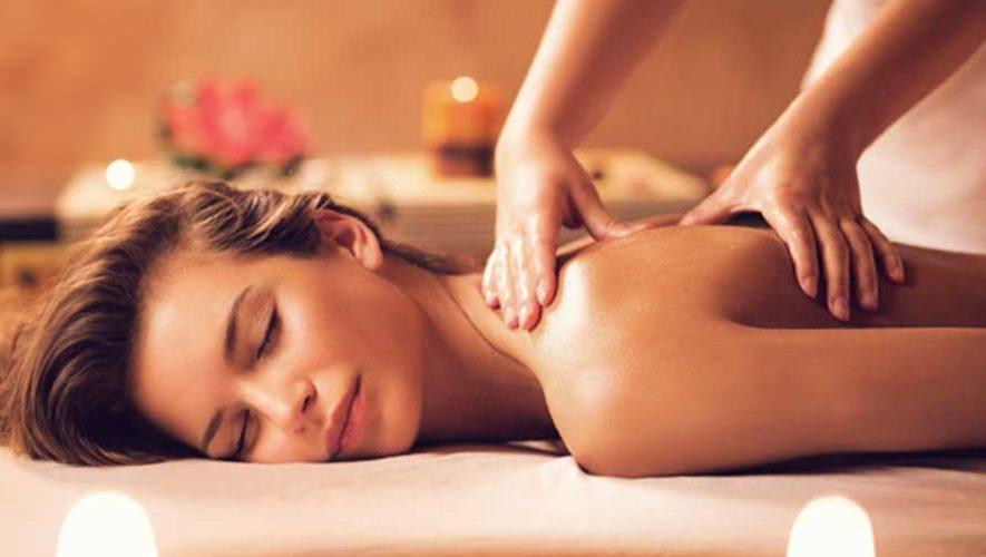 Sesión de masaje terapéutico en Zona 11 | Agosto 2019