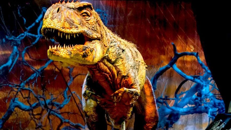 Show de dinosaurios en vivo en Quetzaltenango | Agosto 2019