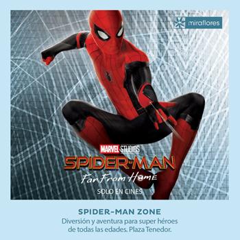 Spider-Man Zone en Miraflores Junio - Agosto 2019