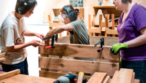 Taller de carpintería en la Ciudad de Guatemala | Agosto 2019