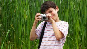 Taller de fotografía para niños en el Museo de Historia Natural | Julio 2019