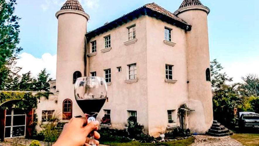 Tour al viñedo Chateau Defay en Sacatepéquez | Agosto 2019