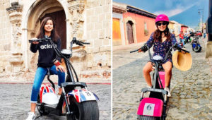 Tour en scooters por Antigua Guatemala | Julio 2019