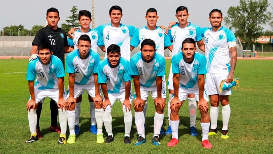 Transmisión en vivo del partido Guatemala vs. Costa Rica, Eliminatoria a Preolímpico de Concacaf 2019