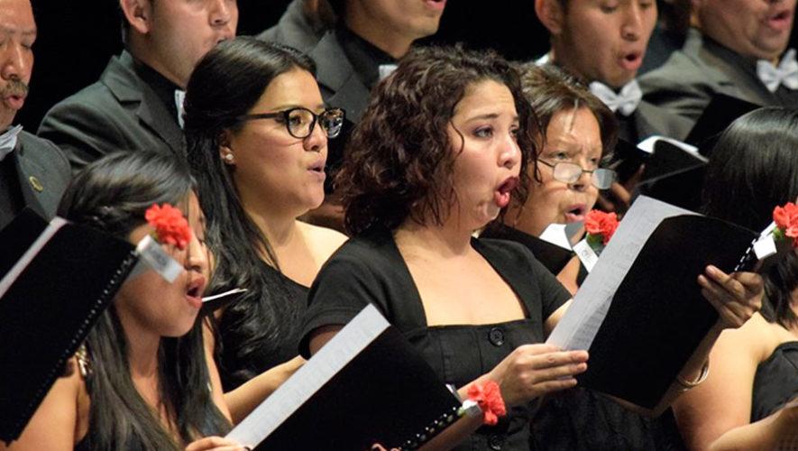 V Festival de coros Voces del Valle en la Ciudad de Guatemala   Agosto 2019