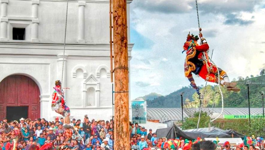 Viaje a la tradicional Danza del Palo Volador en Baja Verapaz   Julio 2019