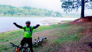 Visita a la Laguna El Pino en bicicleta | Julio 2019