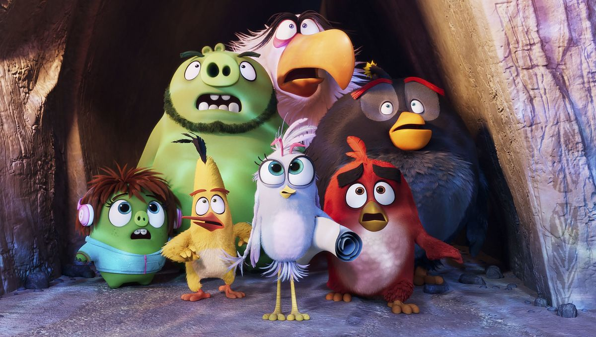 (Foto: Columbia Pictures and Rovio Animations)