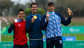 Lima 2019: Charles Fernández se colgó su segundo oro consecutivo en Juegos Panamericanos