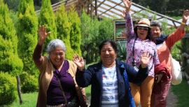 Adultos mayores conocieron por primera vez lugares turísticos de Guatemala