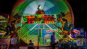 Caminata fotográfica nocturna por la Feria de Jocotenango | Agosto 2019