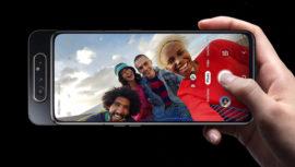 Conoce la cámara giratoria del Samsung Galaxy A80 en Guatemala
