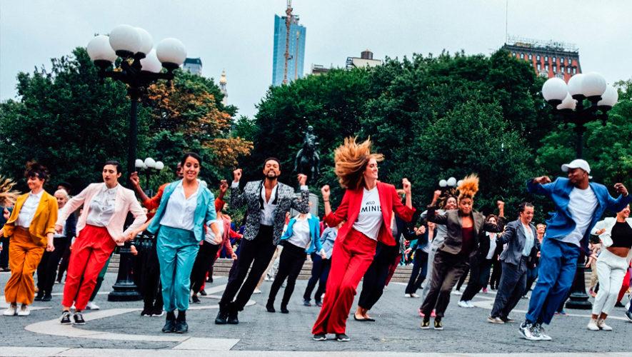 Convocatoria de grupos de baile para el flashmob en la Ciudad de Guatemala