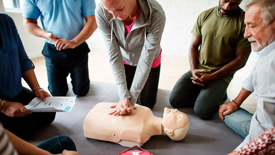 Curso de primeros auxilios de Cruz Roja Guatemalteca | Septiembre 2019