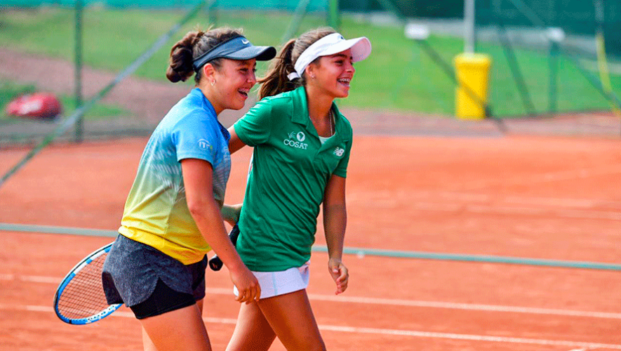 Deborah Domínguez, campeona de dobles del Young Championship Cup 2019 en Bélgica