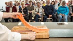 Demostración culinaria con chefs nacionales e internacionales, Feria Alimentaria | Septiembre 2019