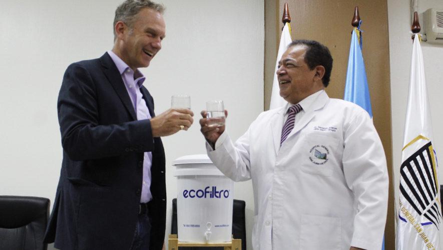 Ecofiltro redujo Q 90 mil en gastos mensuales al Hospital San Juan de Dios