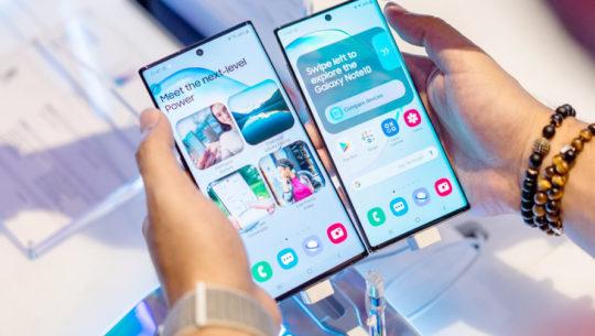 El Samsung Galaxy Note10 y Note10+ disponibles en Guatemala