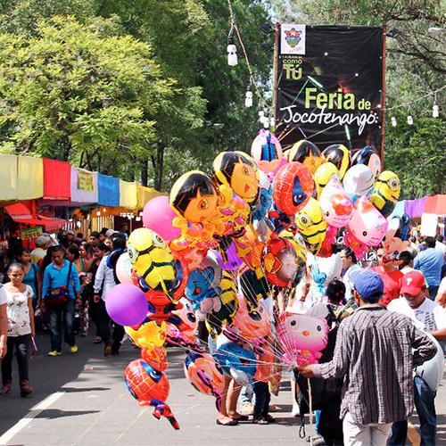 Feria de Jocotenango parqueos