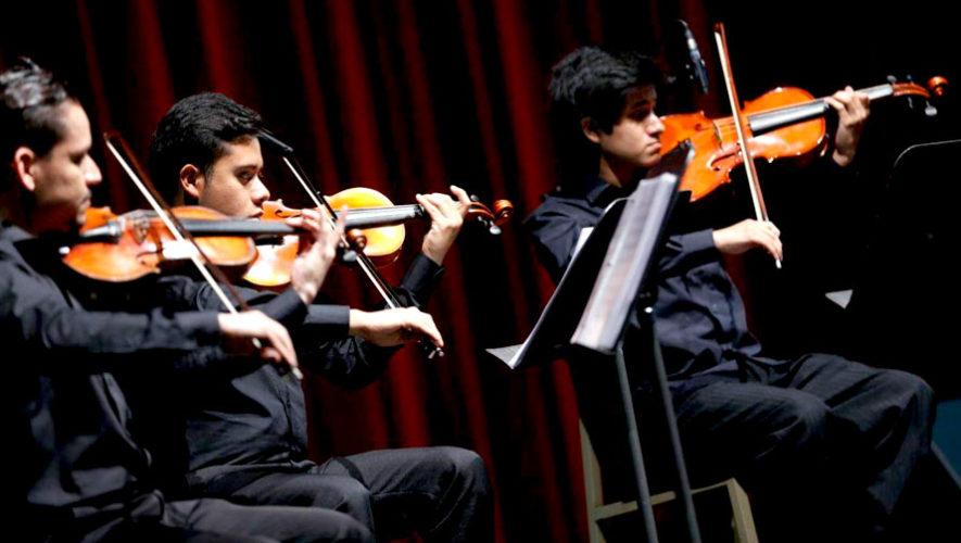 Festival internacional de Música de Cámara en Guatemala   Agosto 2019