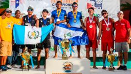 Guatemala obtuvo doble plata en el XIX Campeonato Centroamericano de Playa 2019
