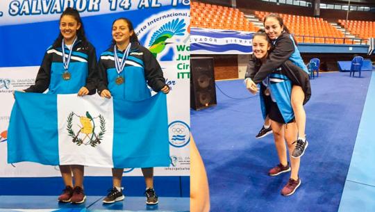Guatemala regresó con 8 medallas del Abierto Internacional Juvenil 2019 de El Slavador