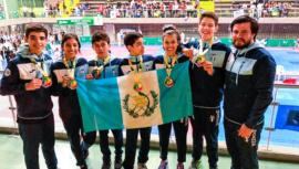Guatemala se trajo 4 medallas de oro del II Open Internacional de Medellín 2019