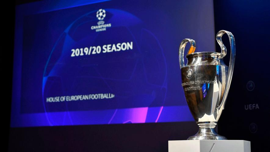 Hora y canales para ver el sorteo de fase de grupos de Champions League 2019-2020 en Guatemala