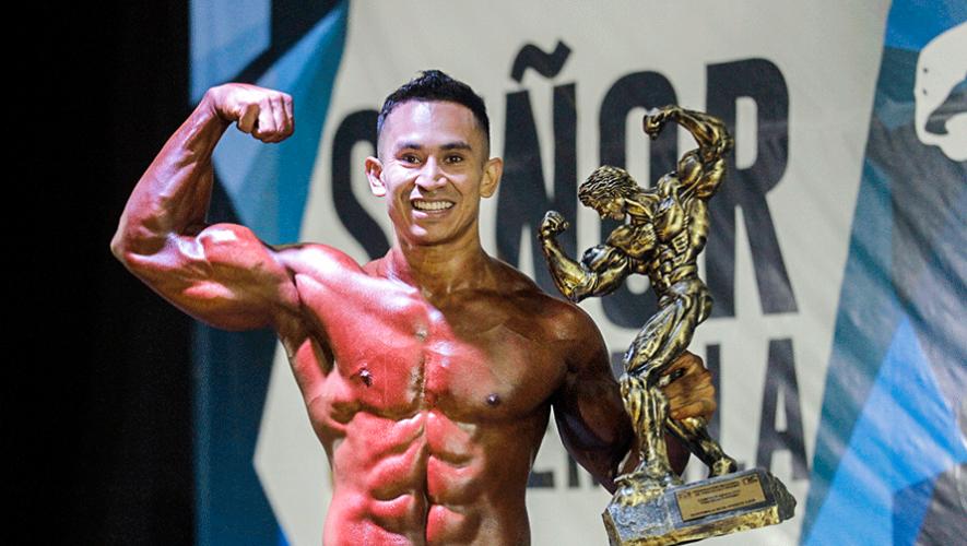 Jonathan Martínez se quedó con el título de Señor Guatemala 2019