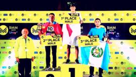 Juan Carlos Trujillo ganó el bronce en la Maratón de Medianoche de Bangkok 2019