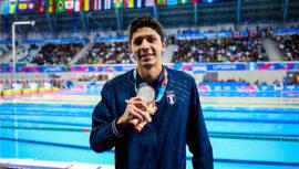 Lima 2019: Luis Martínez conquistó el primer oro de natación en los Juegos Panamericanos