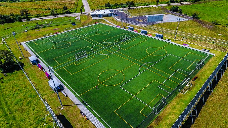 La cancha de fútbol más grande de Centroamérica está en Guatemala