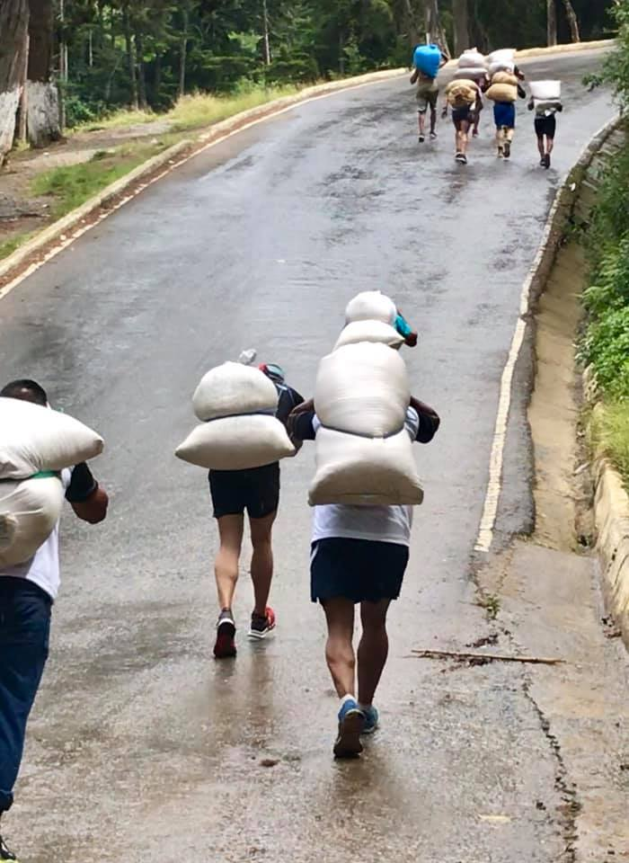 La carrera Los Hombres de Maíz en el municipio de Tactic, Alta Verapaz