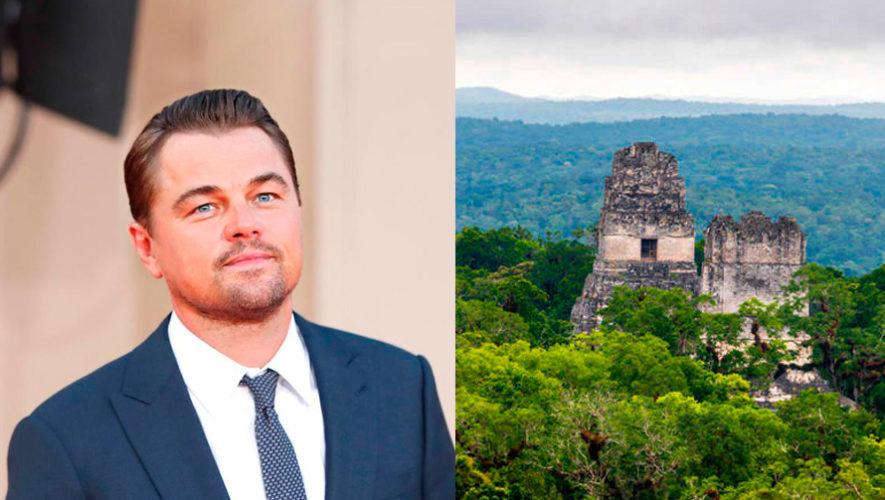 Leonardo DiCaprio invita al mundo a ayudar a la Reserva de la Biosfera Maya
