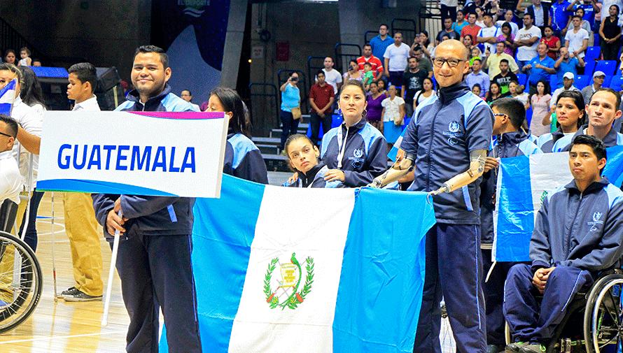 Lima 2019: Delegación de Guatemala que participará en los VI Juegos Parapanamericanos