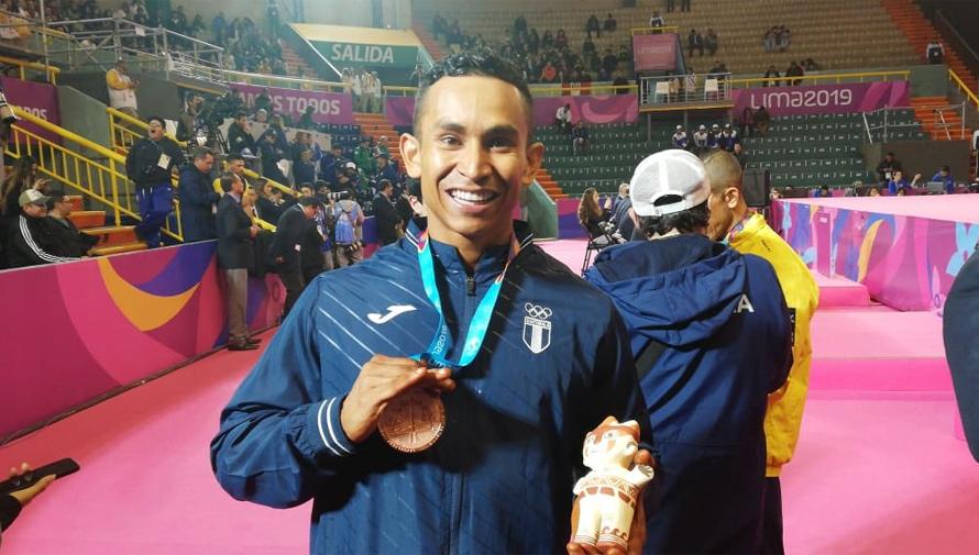 Lima 2019: Fisicoculturista guatemalteco ganó bronce en Juegos Panamericanos