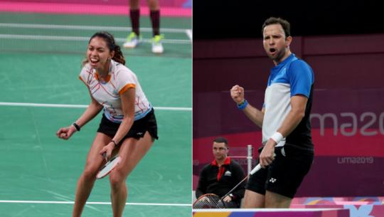 Lima 2019 Guatemala se quedó con 2 medallas de bádminton en los Juegos Panamericanos