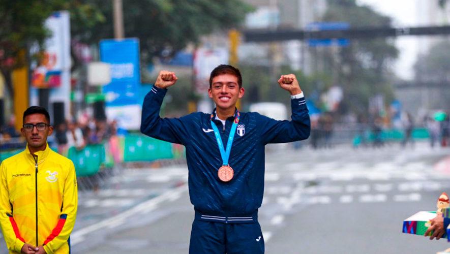 Lima 2019 José Barrondo entró al legado de la marcha guatemalteca en Juegos Panamericanos