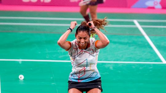 Lima 2019: Nikté Sotomayor, primera guatemalteca medallista en bádminton de Juegos Panamericanos
